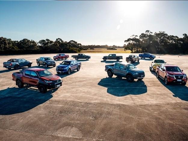 The WhichCar 4x4 australia ute megatest