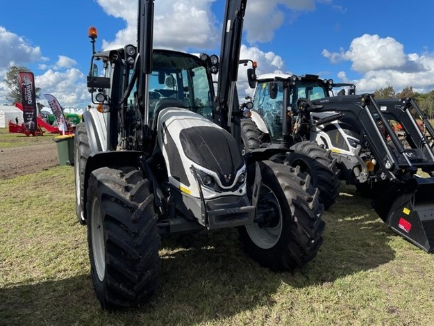 The new  the Valtra G Series tractor on display