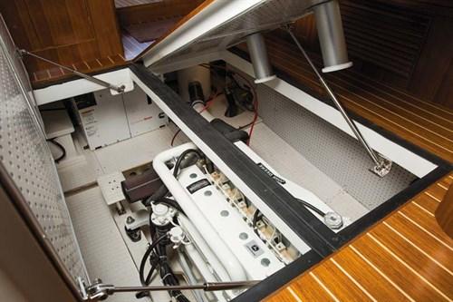 Integrity boat diesel engine