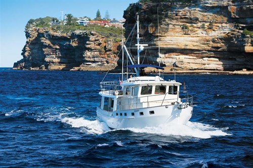 Kadey Krogen motor yacht