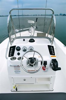 Console on Robalo Cayman 206