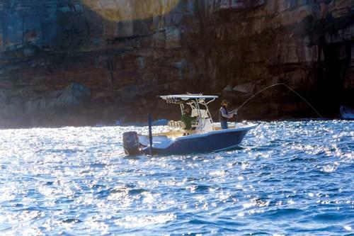 Flyfishing from Key West 239 boat