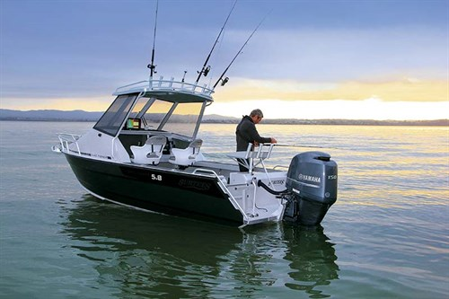 Fishing from Surtees 5.8 Gamefisher