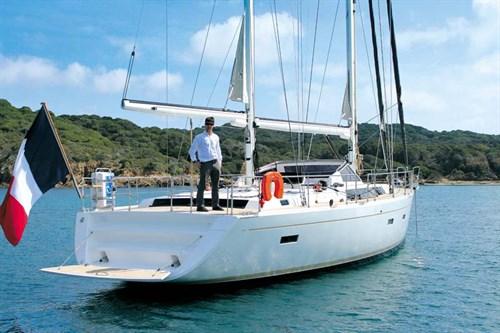Amel 55 sailing boat