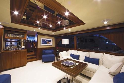 Ocean Alexander 72 interior layout