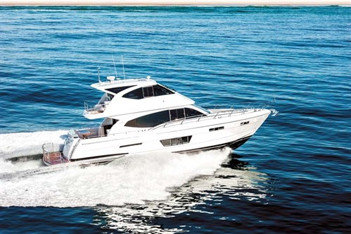 Whitehaven 6000 Flybridge boat