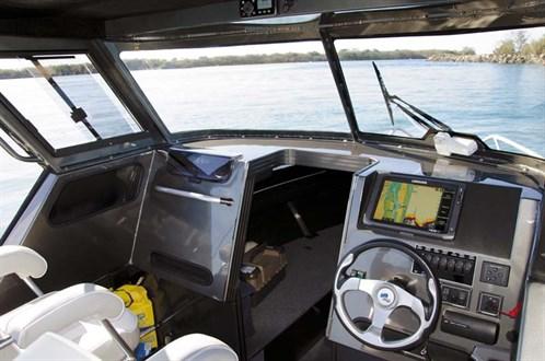 Dash on Quintrex 690 Trident