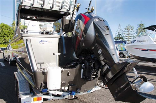 Quintrex 690 Trident Hardtop outboard