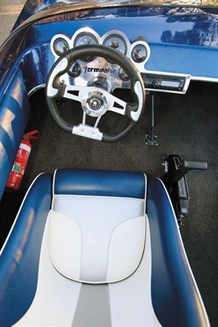 Pro Custom Terminator drivers seat
