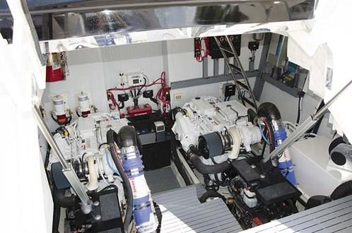 Regal 53 engine room