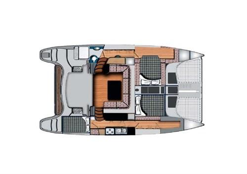 Seawind 1160 Lite deck plan