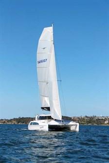 Seawind 1160 Lite sailing