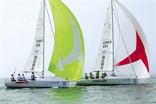 Fareast 28R boats racing