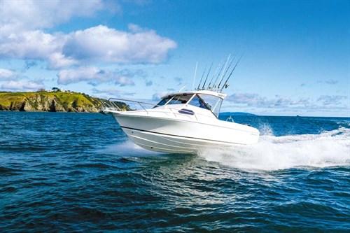 Caribbean Reef Runner on the water