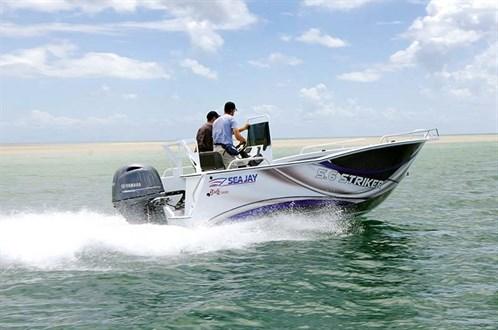 Yamaha F130XA on Sea Jay 5.6 Striker