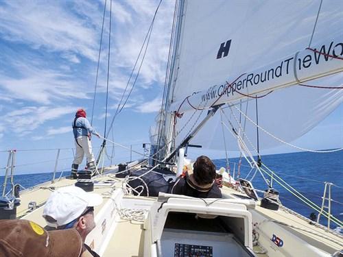 Sydney to Hobart yacht kite run