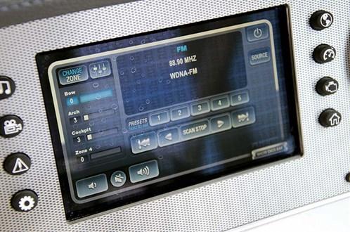 Regal 27 Fasdeck electronics