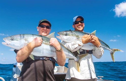 Kingfish caught with Epic Adventures