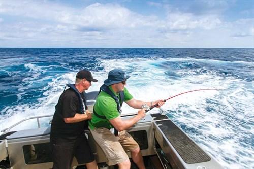 Epic Adventures hooks a marlin