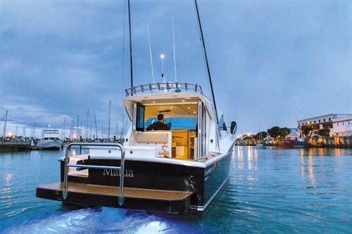 Dickey Semifly 32 boat