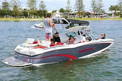 Mastercraft X23 wake surf boat