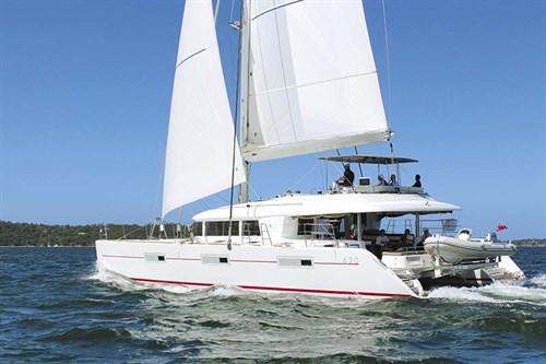 Lagoon 620 sailing cat