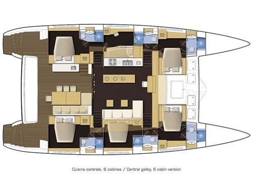 Lagoon 620 layout plan