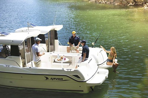 Arvor Diesel boats