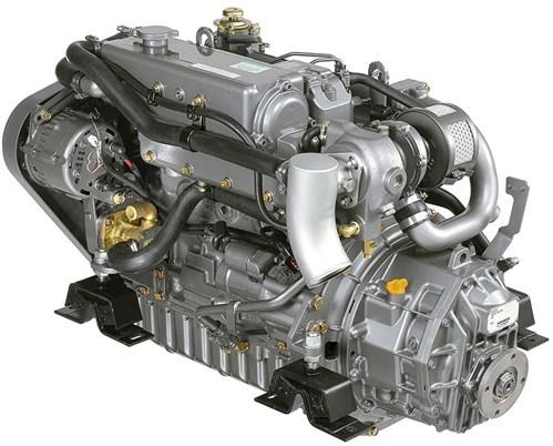Yanmar 4JH4-TE boat engine