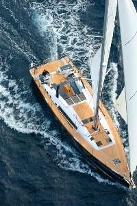 Beneteau Oceanis 60 on the water
