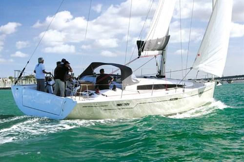 Dehler 46 sail control