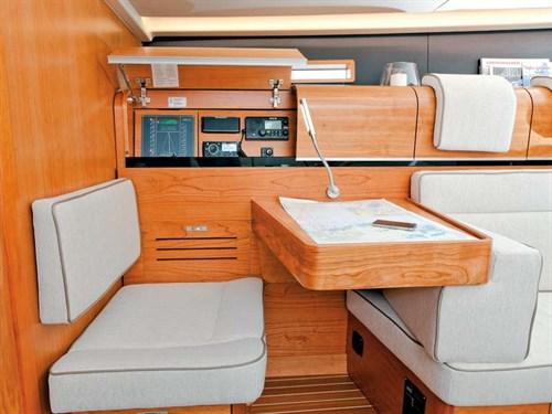 Dehler 46 navigation panel