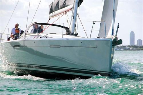 Dehler 46 on the water
