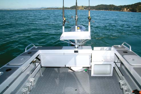 Surtees 650 Game Fisher transom