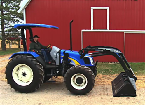 Westerndorf Max Loader With Freedom Mount