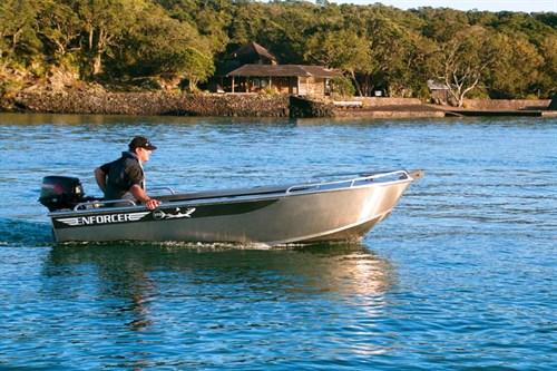 Enforcer 370 dinghy