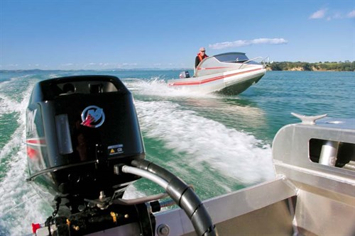 Profile 1410 with Mercury outboard