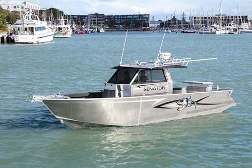 Senator Typhoon 950 fishing boat