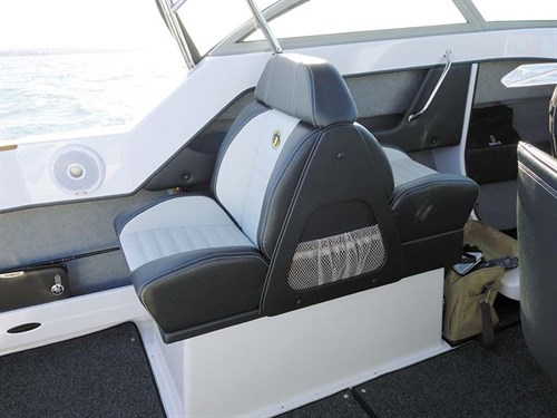 Back to back seats on Haines Hunter 545 SF