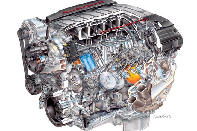 Corvette -c 7-engine -2