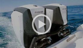 Twin 300hp E-TEC G2 outboard video review