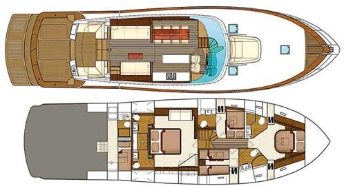 Cresta 70 layout plans