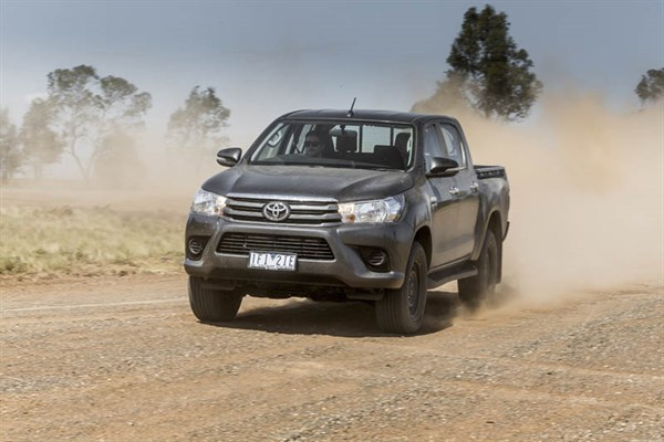 Ute Shoot Out -Toyota Hilux _exterior_