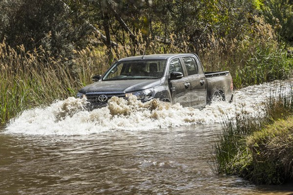 Ute Shoot Out -Toyota Hilux
