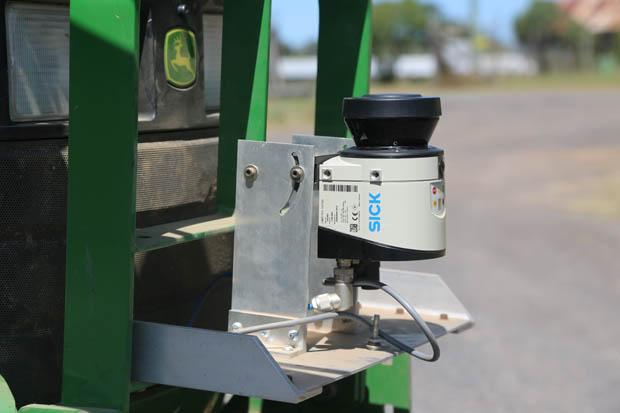 UNSW Smart Seeder Laser Sensor