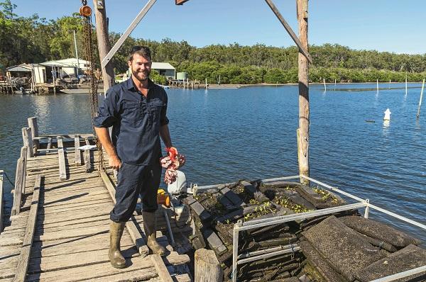 Ewan Mc Ash Batemans Bay Oysters