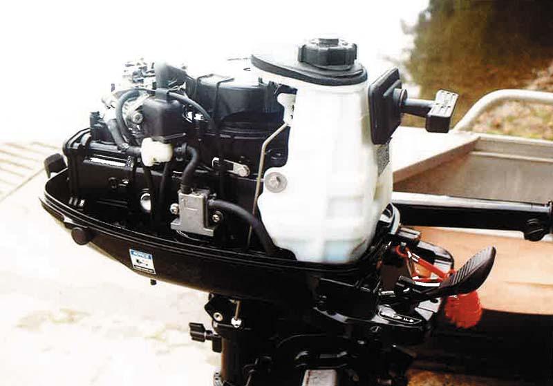 Mercury portable F6 fuel filter cap