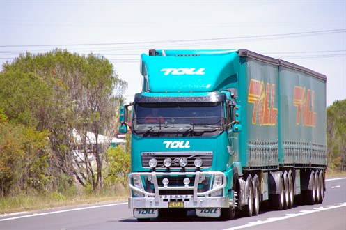 Toll B-double
