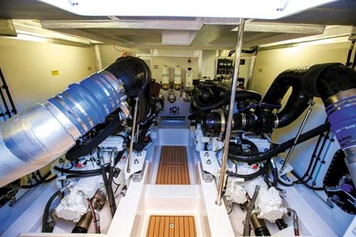 Scania 16lt marine diesel engine