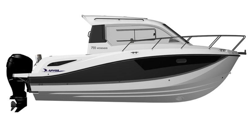 Arvor 755 Weekender boat